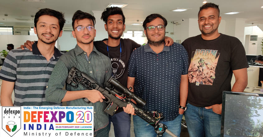 Guns n' Bros: Young Techies Target DefExpo With Sniper VR Pack