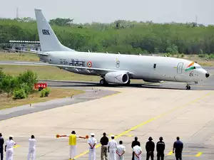 Starting April, Navy to Induct 4 More P8I Reconnaissance Aircraft