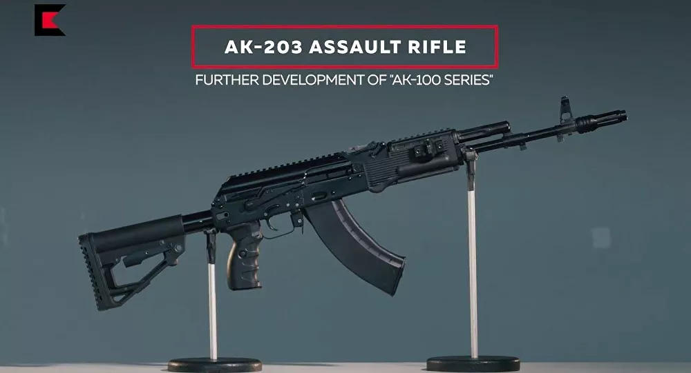 Final Contract for AK-203 Assault Rifle Set to Be Finalised Shortly - Top Indian Defence Official