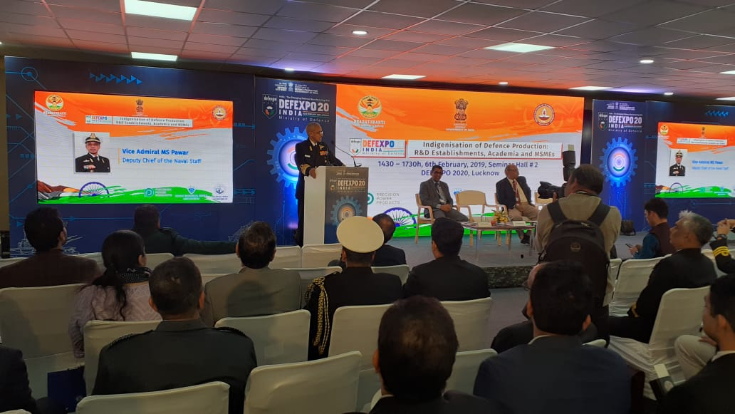 Indigenisation of Defence Production: Bharatshakti.in Conducts Seminar at DefExpo