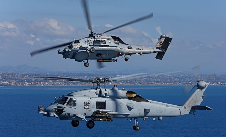 Cabinet clears $2.4 billion deal for MH-60 Romeo helicopters for Navy ahead of Trump visit