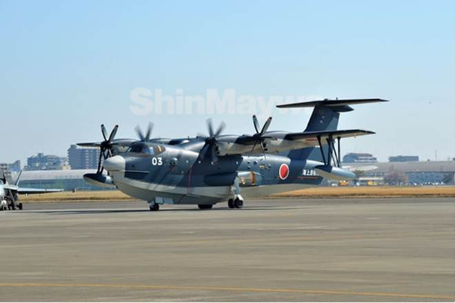 DefExpo 2020: Japanese amphibious plane back on track for the Indian Navy?