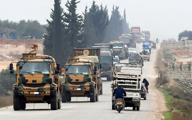 Turkey launches military operation against Syrian regime