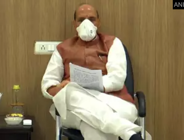 Coronavirus Crisis 'Biggest Invisible War'; Armed Forces and Military Assets Adequately Protected: Rajnath Singh