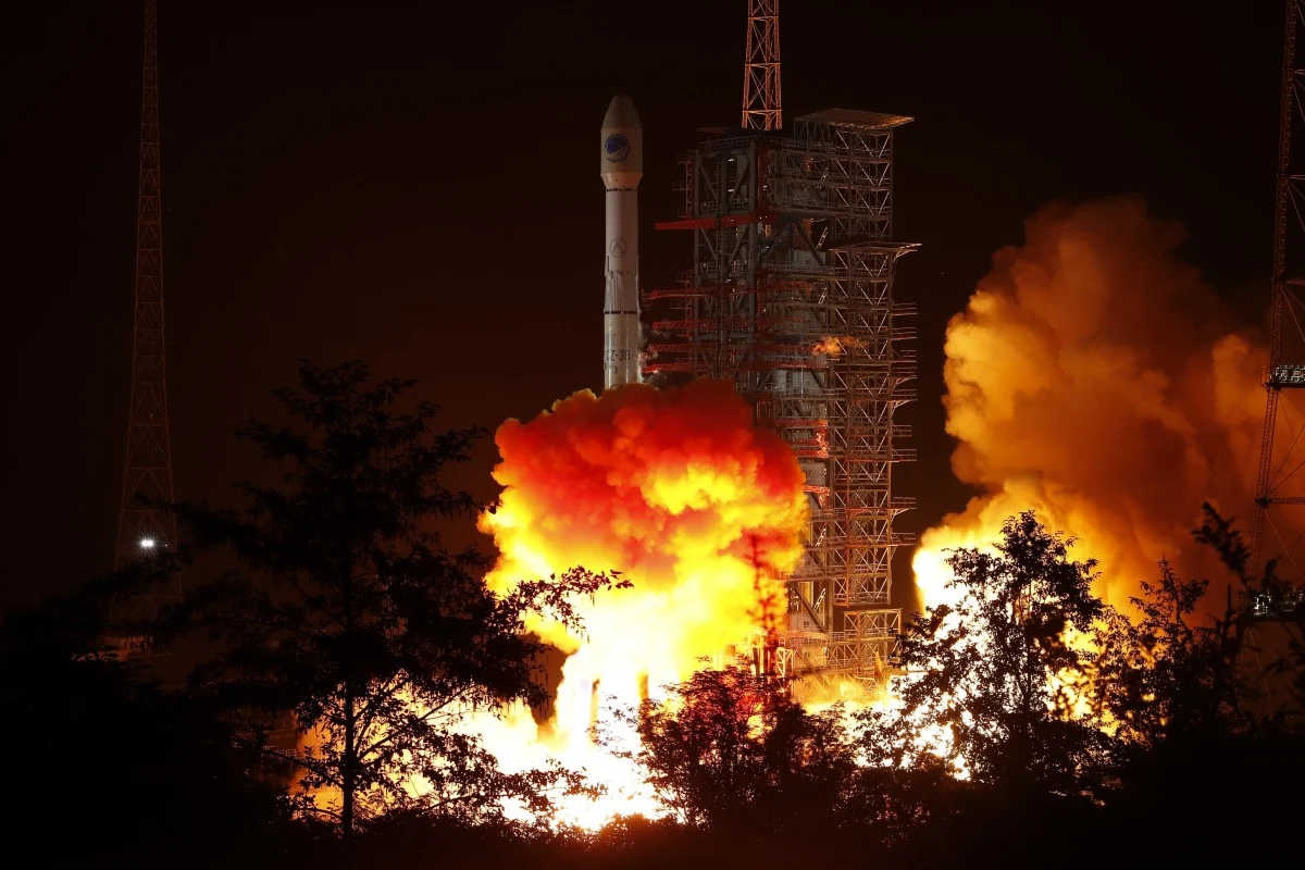 Chinese Long March-3B Rocket Fails During Launch of Indonesian Satellite