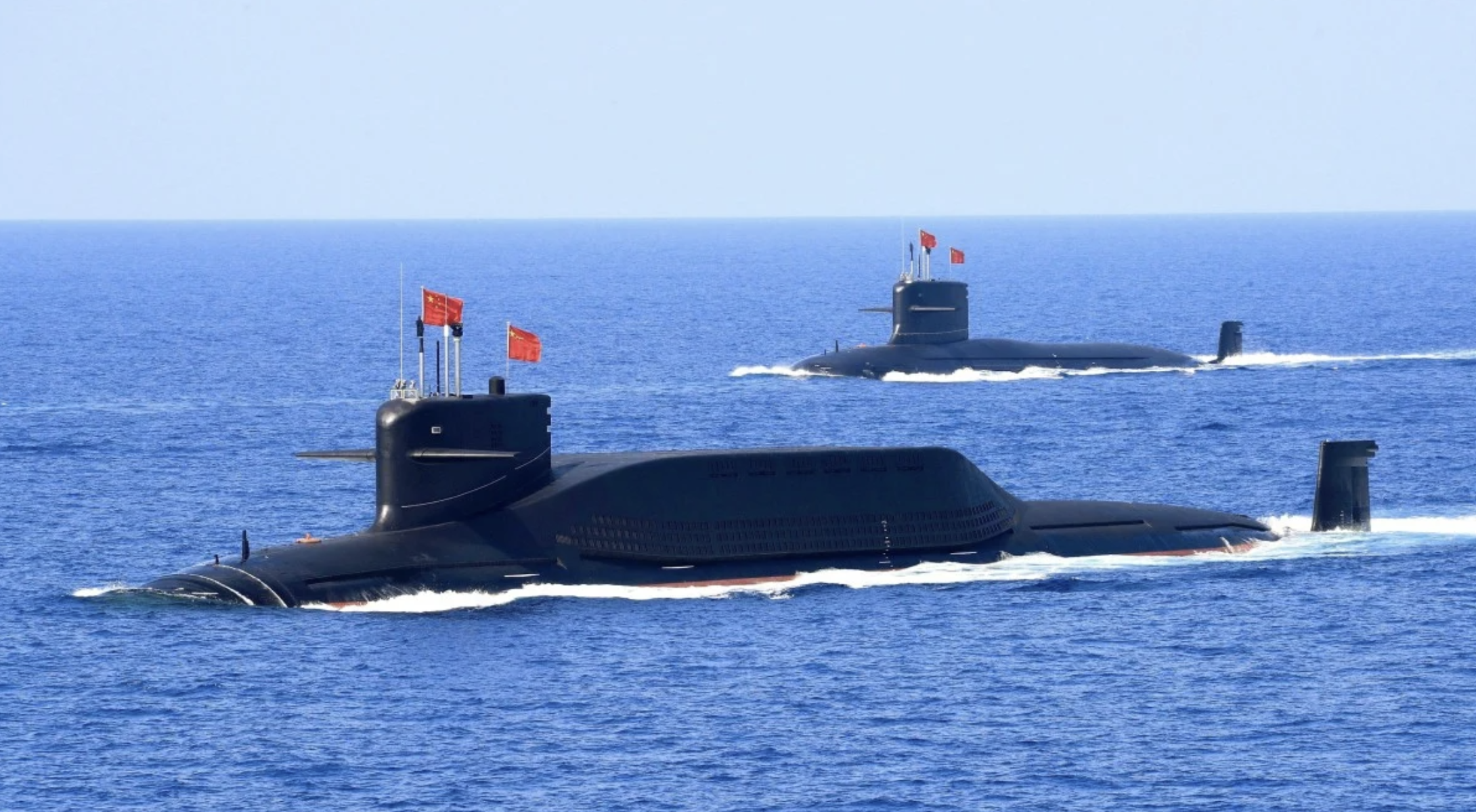 Chinese Navy Puts Two New Nuclear Submarines into Service