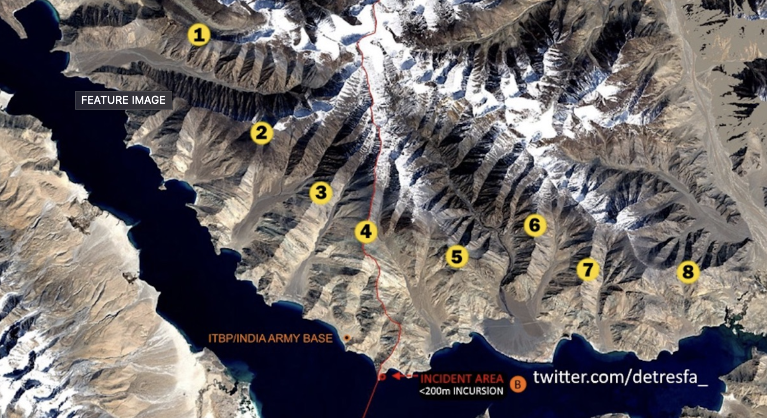 No Chinese 'Occupation'. Geolocated Images Show Fast in-and-out Intrusions by India and China