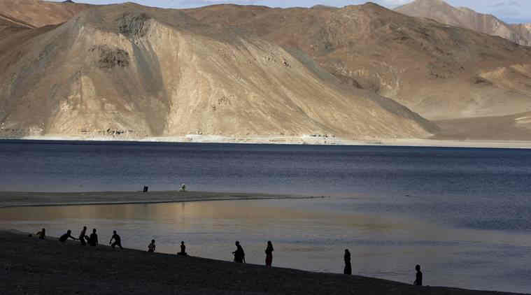 Chinese Building Helipad in Pangong Tso, Massing Troops on Southern Bank of Lake