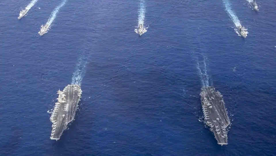 China, the Common Link Between Ladakh and 3 US Super Carriers in the Indo-Pacific