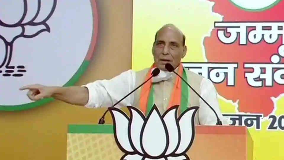 Article 370, Covid-19 to Rafale and Ties with China in Rajnath Singh's Wide-Ranging Jammu Virtual Rally: Highlights
