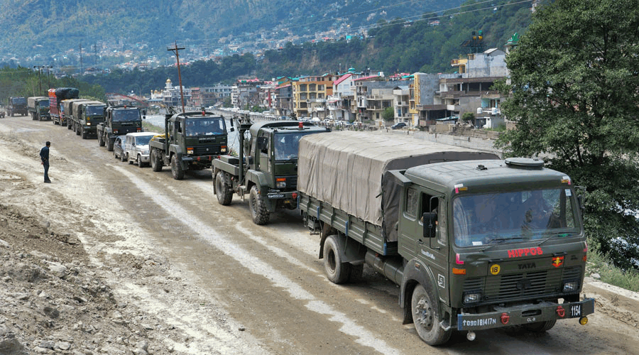Ladakh Process Intricate: Army