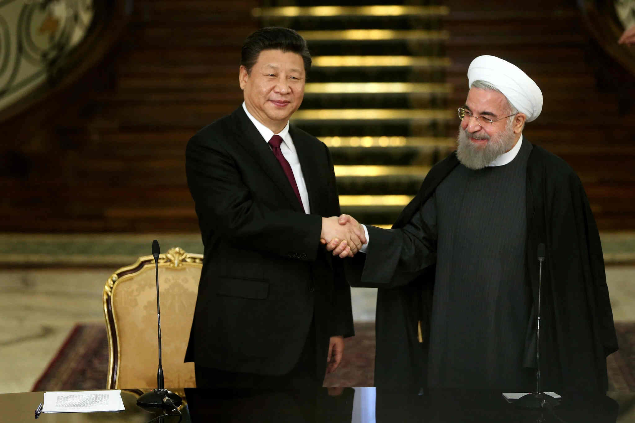 When China Met Iran