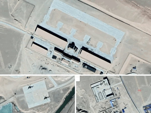 China Buying Time With Border Talks, Satellite Images Show PLA Helicopter Support Base Near Stand-Off Areas