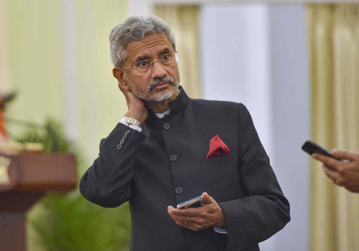 S Jaishankar Says Era of Non-Alignment Gone, as US, Indian Warships Conduct Joint Drills