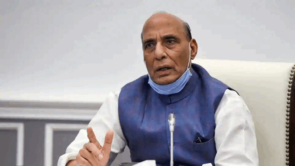 Rajnath Singh Inaugurates Six Bridges in J&K