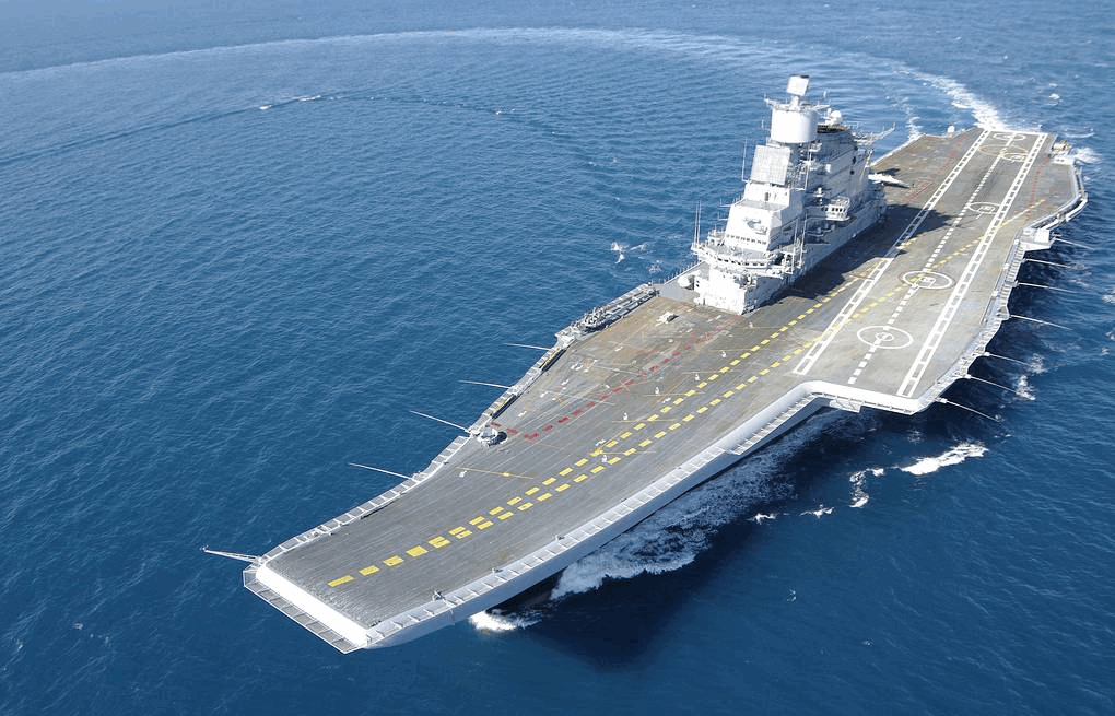 Russia Providing Maintenance for India's Aircraft Carrier Despite Pandemic