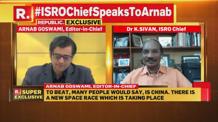 'Young Will do the Job': ISRO Chief K Sivan Confident of India Beating China in Space Tech