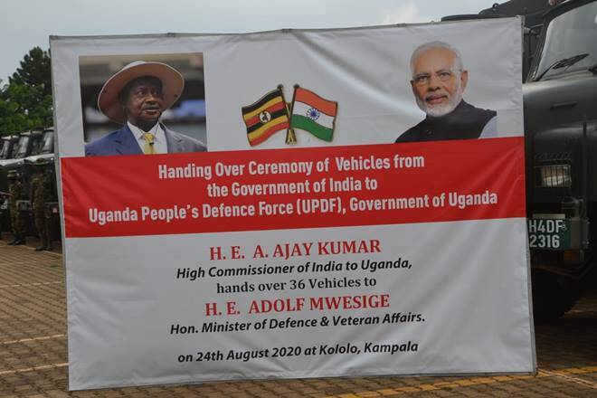 India Extends Helping Hand to Africa, Sends Vehicles for Military and Civil Use to Uganda
