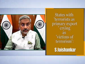 Terrorism is Cancer; Affects Everyone Just Like Pandemic: EAM S Jaishankar
