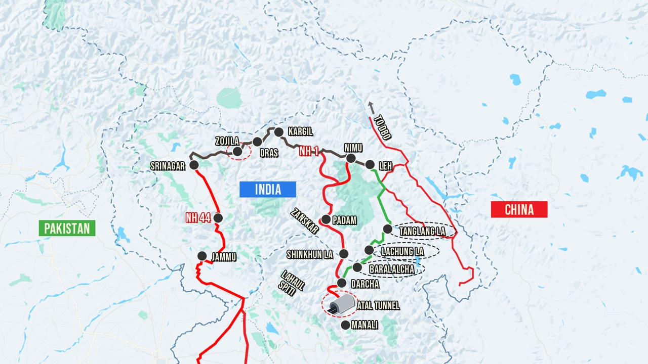 BRO at Work: Development of Third Axis to Ladakh, Securing India's Crown