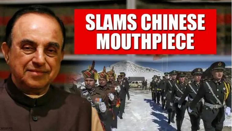 Chinese Mouthpiece Provokes Within 24 Hours Of China-Rajnath Meeting; Swamy Lashes Out