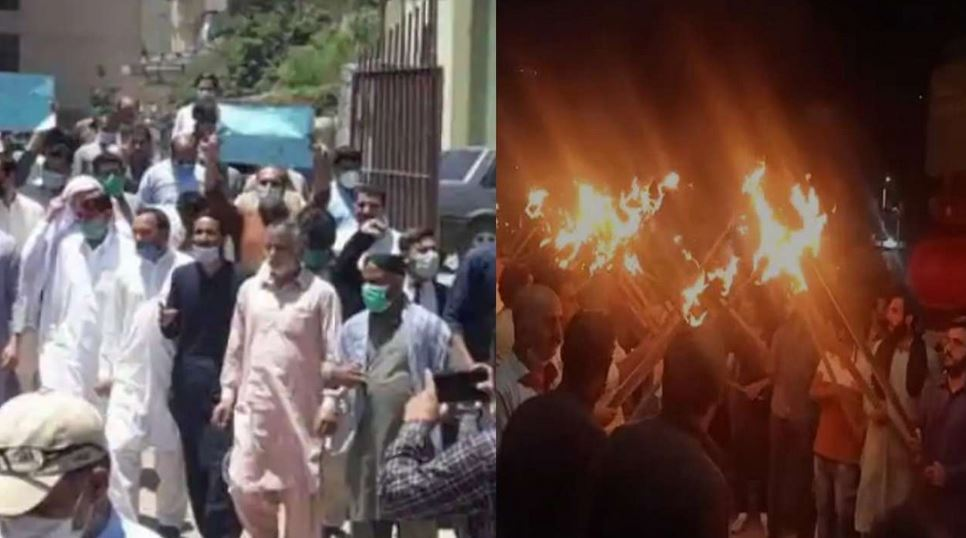 Massive protests erupt in PoK's Muzaffarabad against construction of dams by China and Pakistan on Neelum-Jhelum river