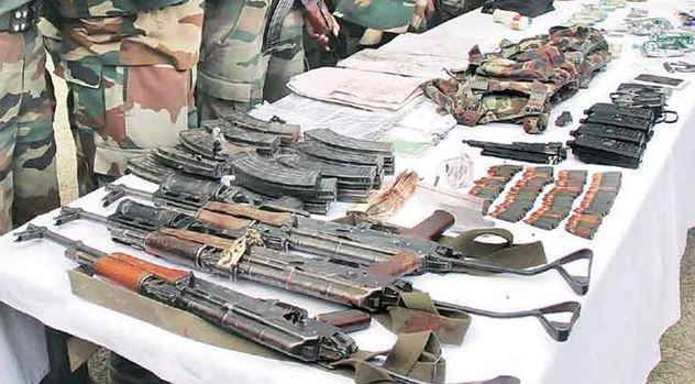 J&K DGP: Arms seized from Kulgam airdropped by drone from Pakistan
