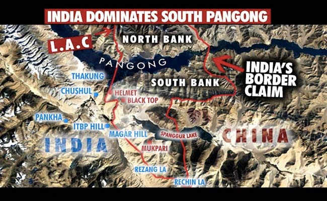 Major Chinese Tank, Infantry Build-Up In South Pangong As Standoff Intensifies