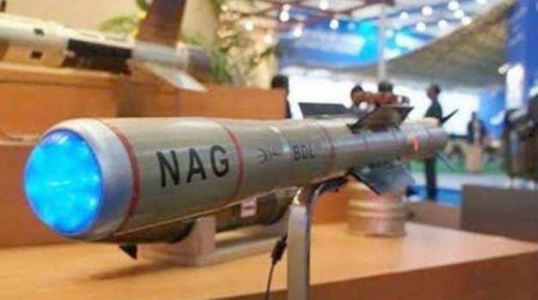 Nag anti-tank guided missile passes final trial, ready for induction into Indian Army