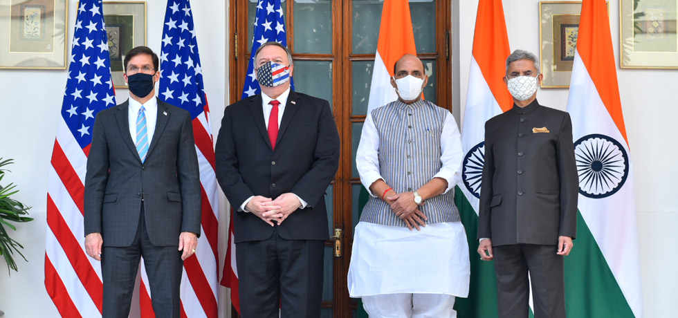 2+2 Dialogue: India, US Sign Crucial Defence Pact BECA