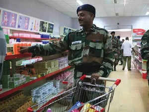 Defence Canteens to Ban Import of Finished Goods