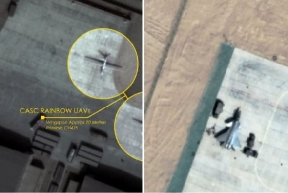 Satellite Images Show China Moved Drones, J-20 Stealth Fighters To Hotan Airbase North Of Ladakh