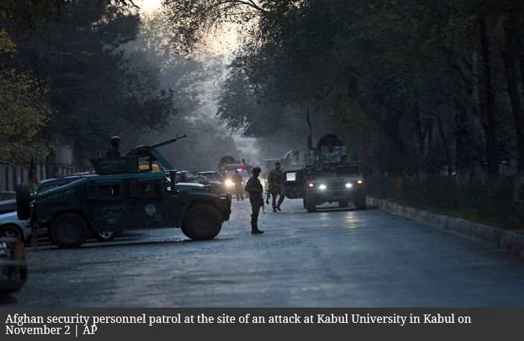 Indian security agencies on alert as Pak ISI hand evident in Kabul University attack