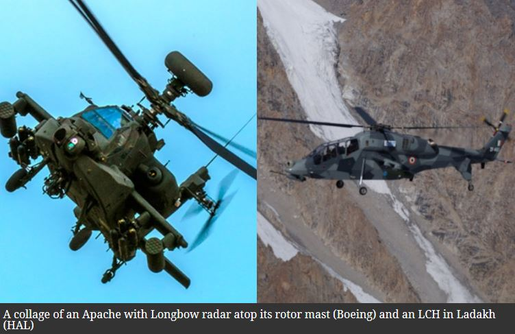 After Apache, IAF chief flies desi attack helicopter. How the 2 choppers differ