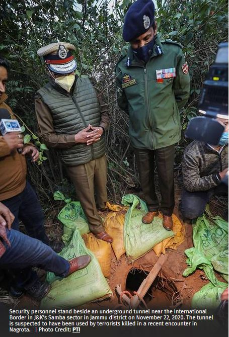 Tunnel used by Jaish militants found in Jammu