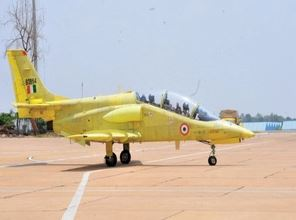 Intermediate Jet Trainer designed and developed by HAL commences spin flight testing
