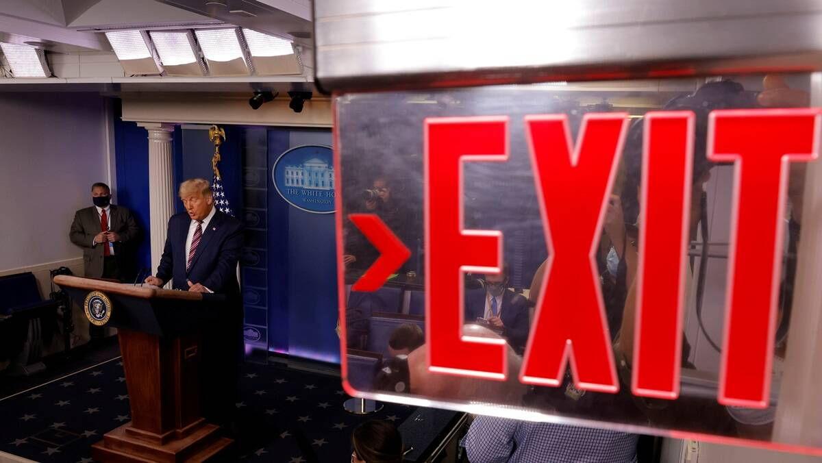 Donald Trump Fakes the News, Biden takes the Headline — Lead in Pennsylvania