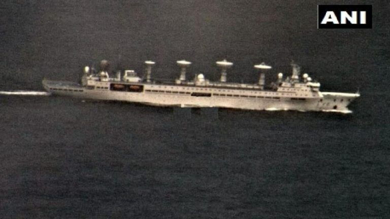 Chinese Research Vessels in Sri Lankan Waters Come Under Indian Navy Lens