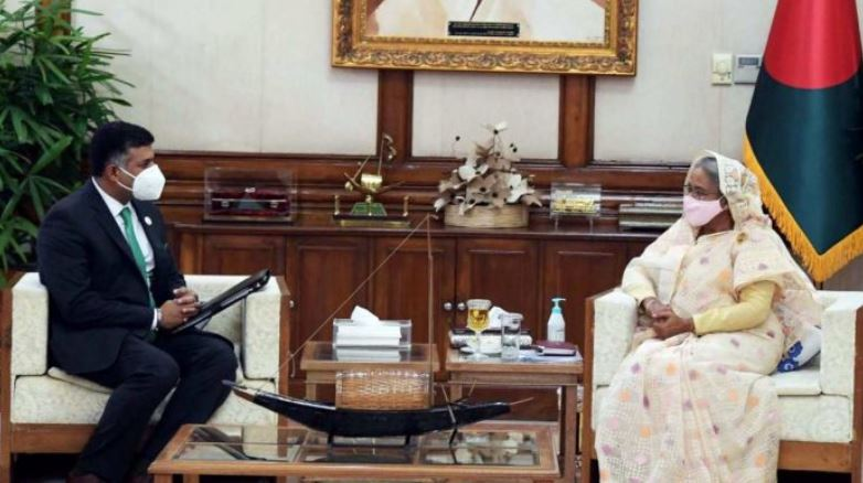 Indian envoy meets Bangladesh PM Sheikh Hasina as Dhaka, Islamabad look to revive ties