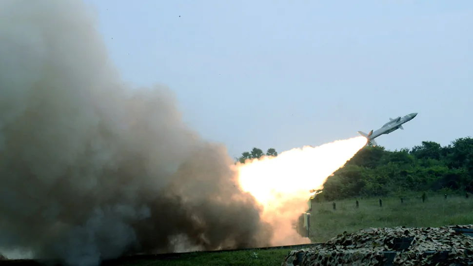 IAF Carries Out Firing of Akash and Igla Missiles in Andhra Pradesh's Suryalanka