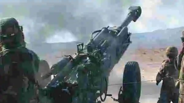 DRDO-Developed Howitzer Undergoes Trial in Maharashtra