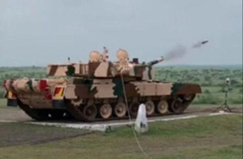 More Firepower for Indian Army: Final Trials of Advanced Mark-1 A Version of Arjun Tank Held in Jaisalmer