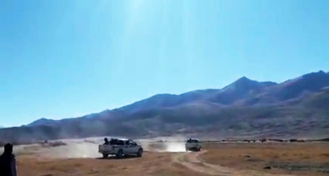 Chinese Vehicles Enter into Indian Territory in Changthang, Return After Protest By Local Authorities