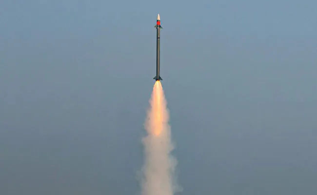India Successfully Test-Fires Medium Range Surface-To-Air Missile for Army