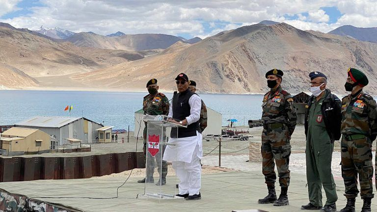India to Beef up Security at Pangong Tso, Govt Fast-Tracks Procurement of Patrol Vessels