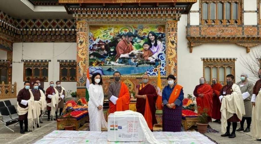 'Gesture of Compassion & Generosity', Says Bhutan PM as Country Gets 'Made in India' Vaccines