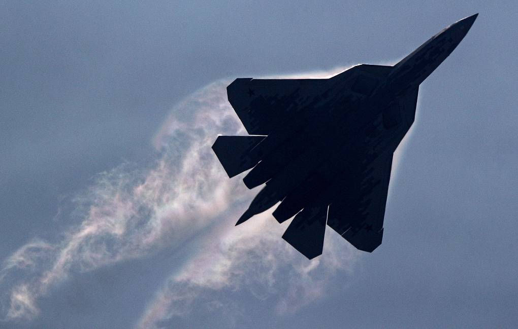Russia's United Aircraft Corporation Releases Footage of First Serial Su-57 Jet Fighter