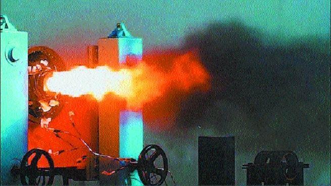 Solar Group Test-Fires Solid Propellant Motor for Vikram-1 Rocket in City