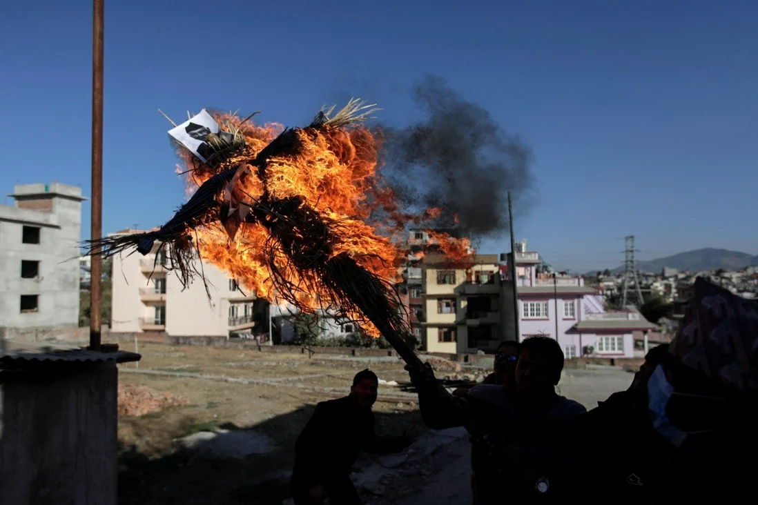As Nepal Faces Political Turmoil, China and India are Scrambling