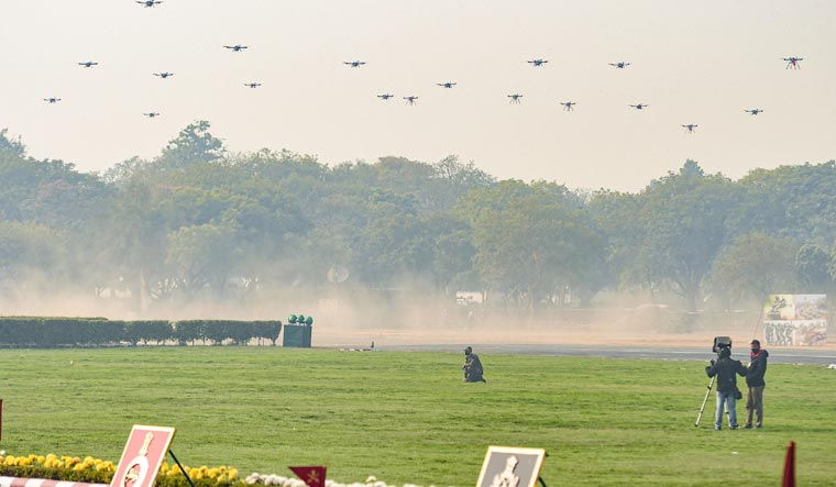 Why Indian Army's Drone Swarm Demo is Milestone in 'Disruption in Warfare'